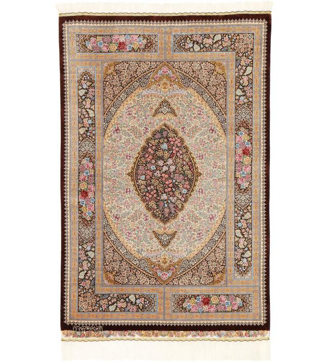 Qum Silk signed: Mohareri 100X150